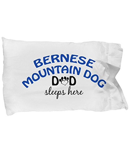Bernese Mountain Dog Mom and Dad Pillow Cases