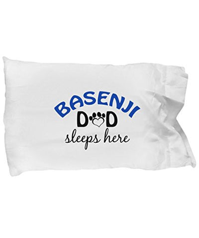 Basenji Mom and Dad Pillow Cases