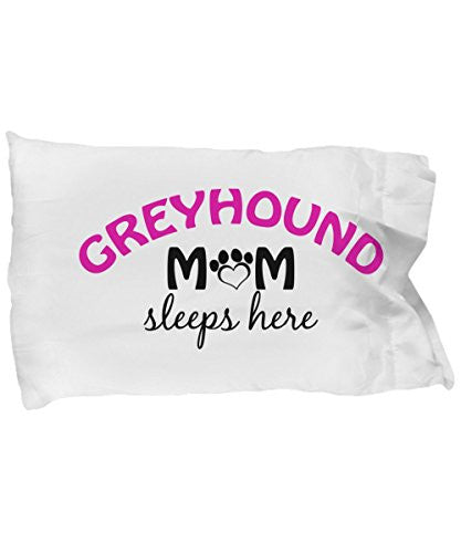 Greyhound Mom and Dad Pillow Cases