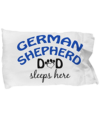 German Shepard Mom and Dad Pillow Cases