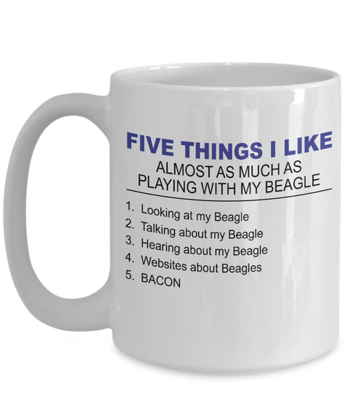 Five Thing I Like About My Beagle - Dogs Make Me Happy - 3