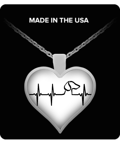 Does your heart beat for dachshunds? - dog necklace - dog necklaces - dog stuff - Dogs Make Me Happy