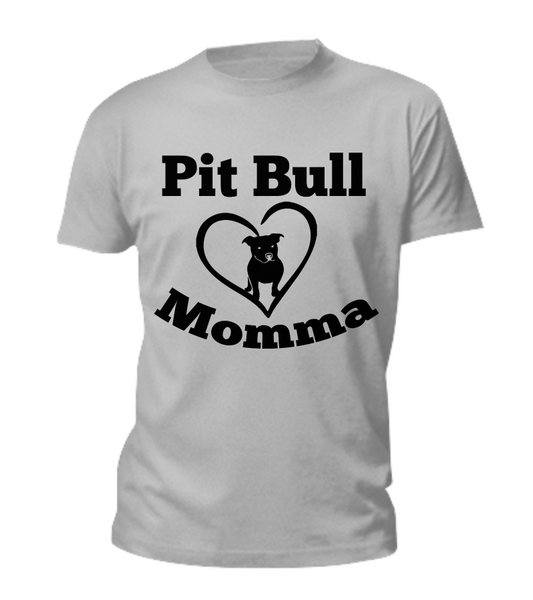 Pit Bull Momma - Dogs Make Me Happy - 2