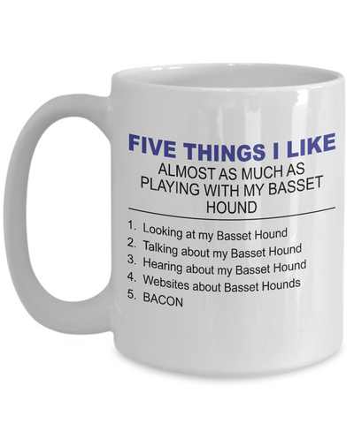 Five Thing I Like About My Basset Hound - Dogs Make Me Happy - 3