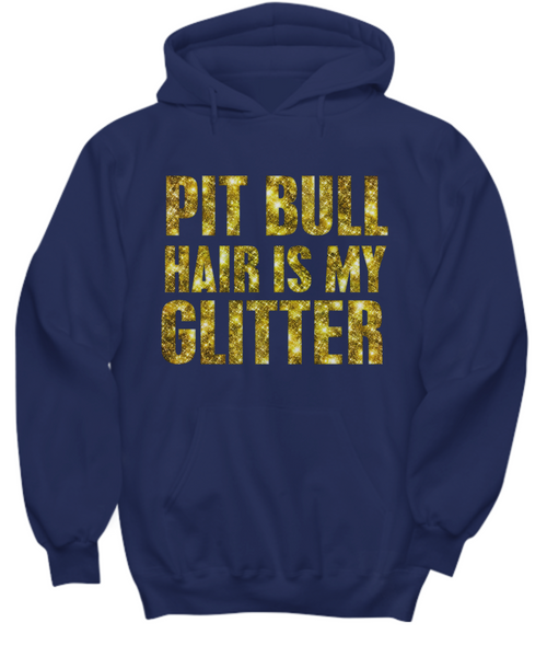 Pit Bull hair is my glitter - tank - Dogs Make Me Happy - 35