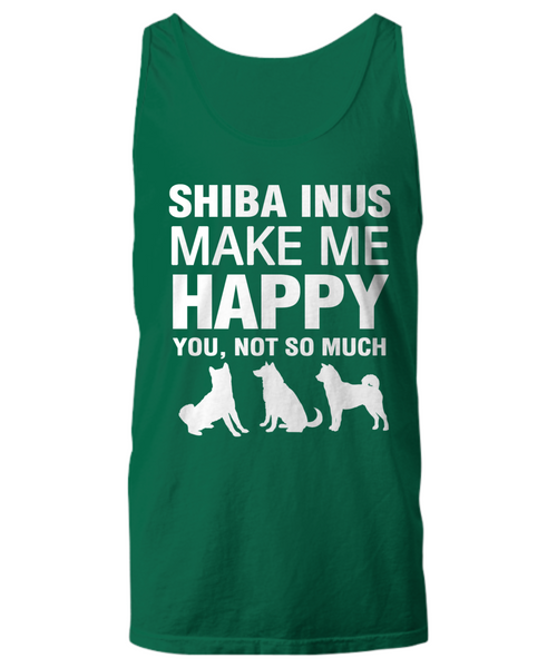 Shiba Inus Make Me Happy Women's Shirt - Dogs Make Me Happy - 29