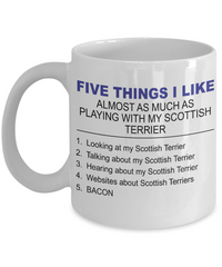 Five Thing I Like About My Scottish Terrier - Dogs Make Me Happy - 1