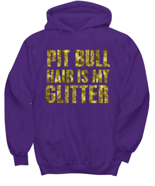 Pit Bull hair is my glitter - tank - Dogs Make Me Happy - 33