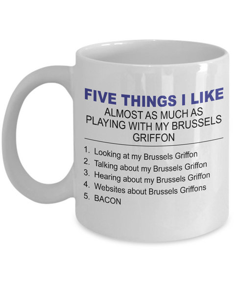 Five Thing I Like About My Brussels Griffon - Dogs Make Me Happy - 1