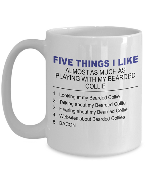Five Thing I Like About My Bearder Collie - Dogs Make Me Happy - 3