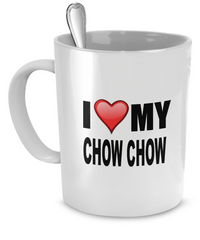 I Love My Chow Chows - Dogs Make Me Happy - 1