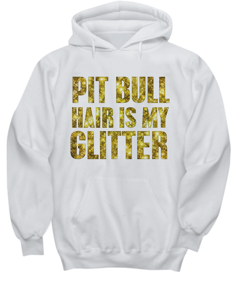Pit Bull hair is my glitter - tank - Dogs Make Me Happy - 25
