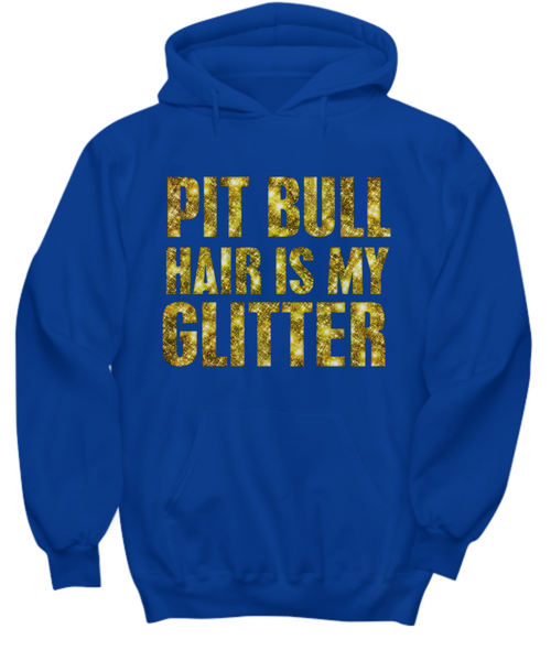 Pit Bull hair is my glitter - tank - Dogs Make Me Happy - 31