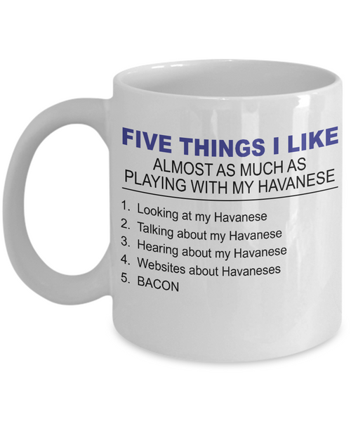 Five Thing I Like About My Havanese - Dogs Make Me Happy - 1