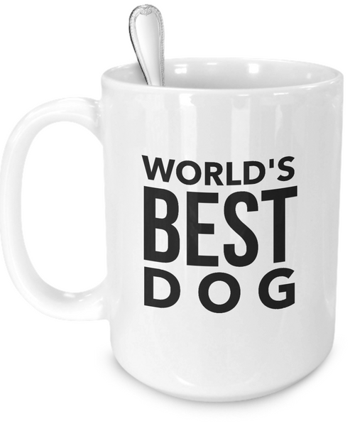Personalized mug with picture of your dog - Dogs Make Me Happy - 4