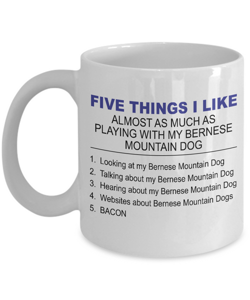 Five Thing I Like About My Bernese Mountain Dog - Dogs Make Me Happy - 1