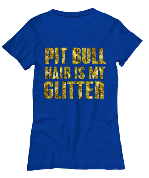Pit Bull hair is my glitter - tank - Dogs Make Me Happy - 19