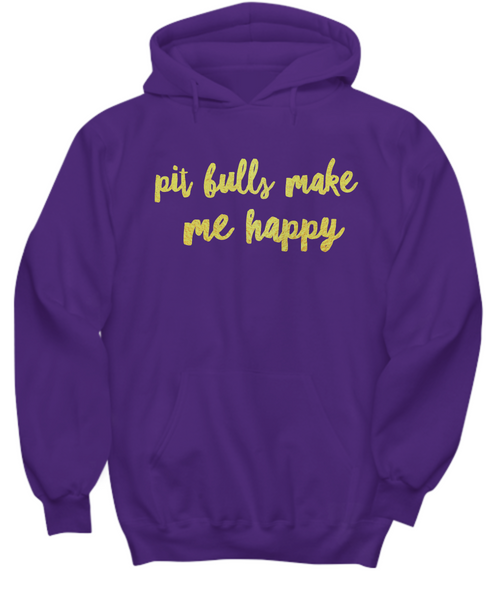 Pit Bulls make me happy - Dogs Make Me Happy - 31