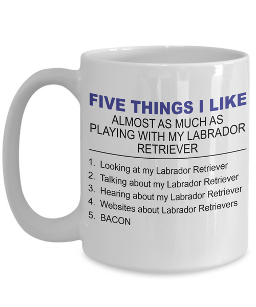 Five Thing I Like About My Labrador Retriever - Dogs Make Me Happy - 3