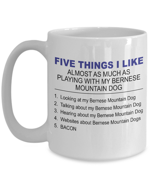 Five Thing I Like About My Bernese Mountain Dog - Dogs Make Me Happy - 3