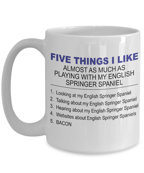 Five Thing I Like About My English Springer Spaniel - Dogs Make Me Happy - 3