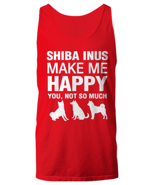 Shiba Inus Make Me Happy Women's Shirt - Dogs Make Me Happy - 23