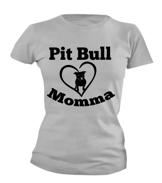 Pit Bull Momma - Dogs Make Me Happy - 3