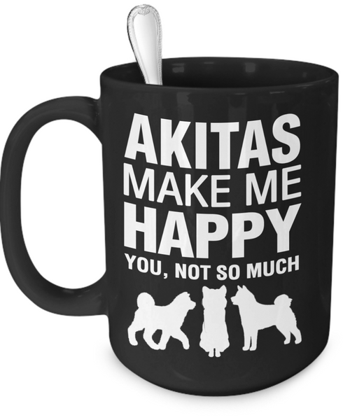 Akitas Make Me Happy