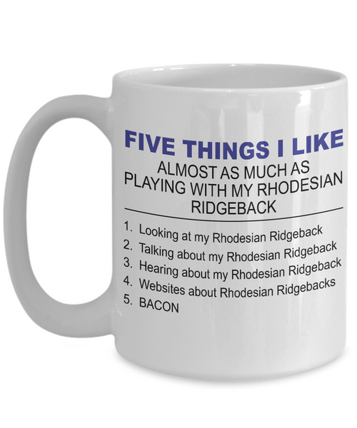 Five Thing I Like About My Rhodesian Ridgeback - Dogs Make Me Happy - 3