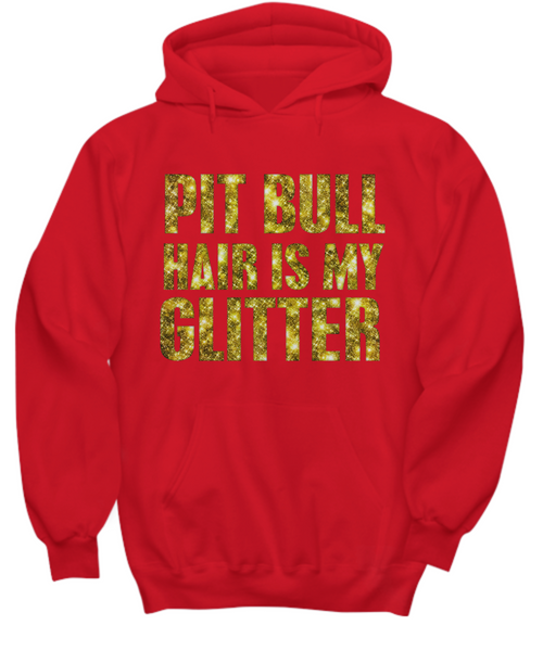 Pit Bull hair is my glitter - tank - Dogs Make Me Happy - 29