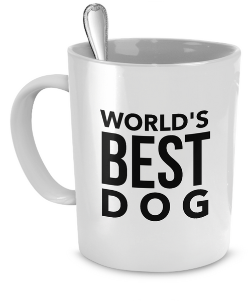 Personalized mug with picture of your dog - Dogs Make Me Happy - 2
