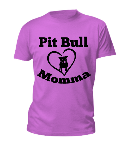 Pit Bull Momma - Dogs Make Me Happy - 1