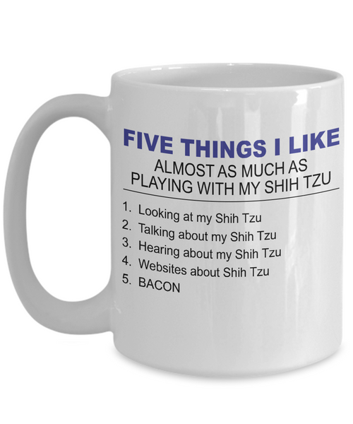 Five Thing I Like About My Shih Tzu - Dogs Make Me Happy - 3