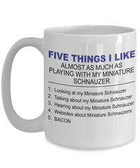 Five Thing I Like About My Miniature Schnauzer - Dogs Make Me Happy - 3