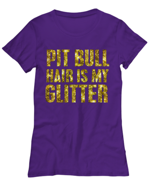 Pit Bull hair is my glitter - tank - Dogs Make Me Happy - 21