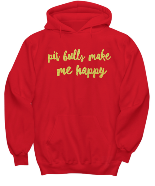 Pit Bulls make me happy - Dogs Make Me Happy - 27