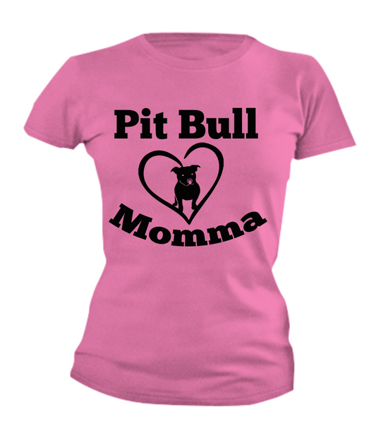 Pit Bull Momma - Dogs Make Me Happy - 4
