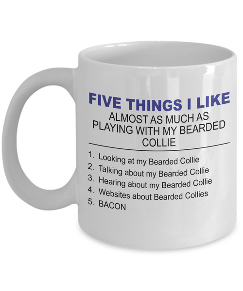 Five Thing I Like About My Bearder Collie - Dogs Make Me Happy - 1