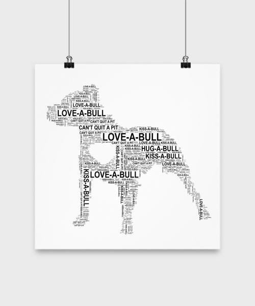 Love-a-bull poster