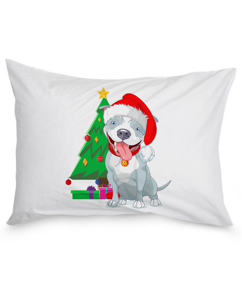 Happy Holidays Pillow Case - Dogs Make Me Happy