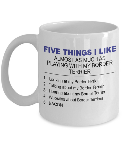Five Thing I Like About My Border Terriers - Dogs Make Me Happy - 1