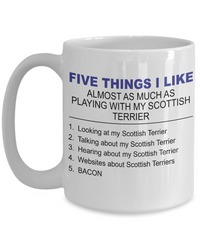 Five Thing I Like About My Scottish Terrier - Dogs Make Me Happy - 3
