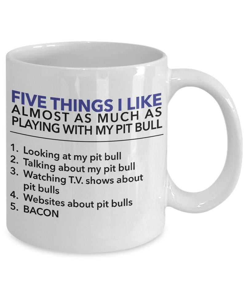 Five Things I Like About My Pit Bull