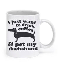 Dachshund Mug Dog Mug Dachshund Gift Coffee Mug Wiener Dog Lover Gift Dachshund Cup Doxie Mug Ceramic Mug Animal Mug Weiner Dog Tea Cup