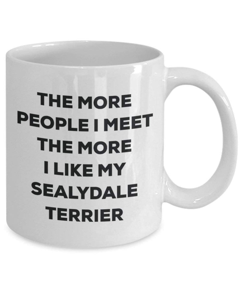 The more people I meet the more I like my Sealydale Terrier Mug