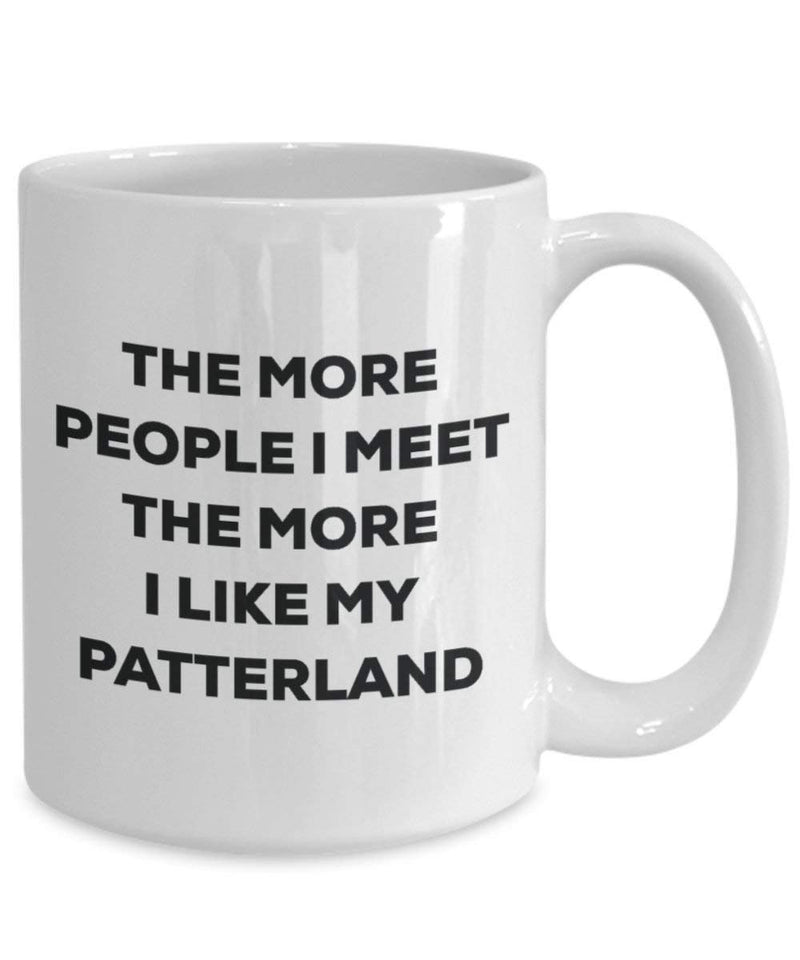 The more people I meet the more I like my Patterland Mug