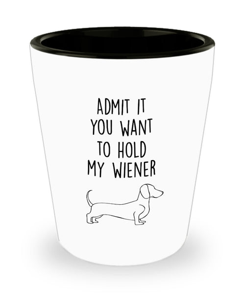 Daschund Shot glass - Wiener Shots- Daschund gift ideas for men/ women/ birthday/lover