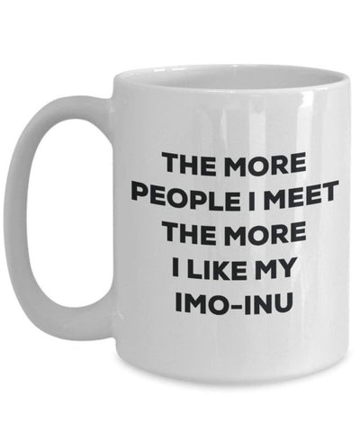 The more people I meet the more I like my Imo-inu Mug