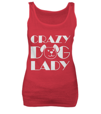 Crazy dog lady - tank + tee - Dogs Make Me Happy - 2