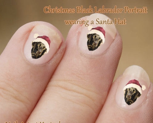 Labrador nail art - Dogs Make Me Happy - 3